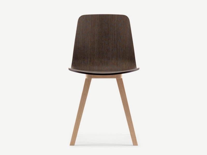 Wooden chair KUSKOA   Chair by ALKI