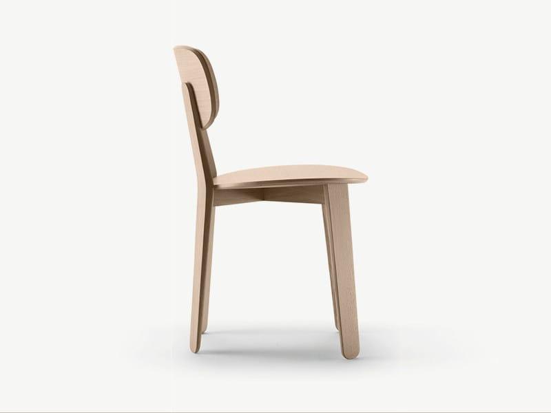 Wooden chair TRIKU | Chair by ALKI