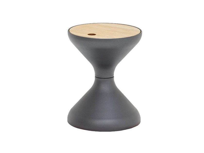 Round garden side table BELLS by Gloster