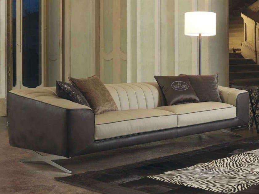 Leather sofa COSMOS | Sofa by Formenti