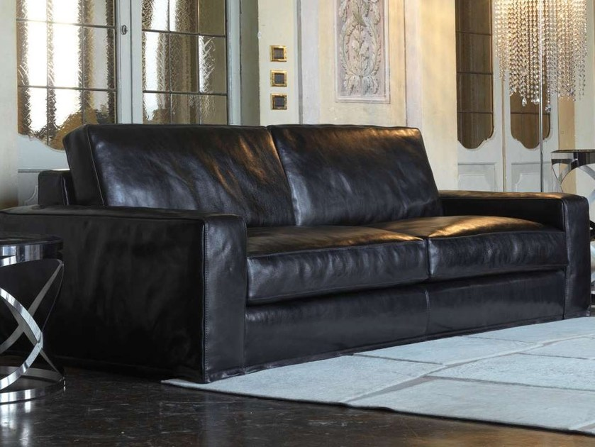 Leather sofa HERO by Formenti