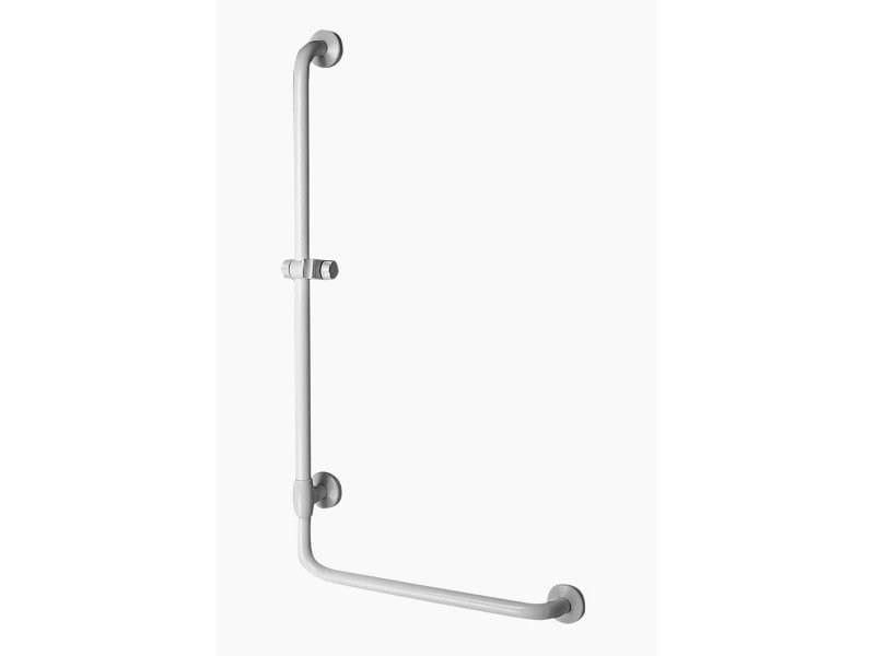 Maniglione bagno ad angolo in acciaio zincato per doccia MAXIMA   Maniglione bagno per doccia by Ponte Giulio