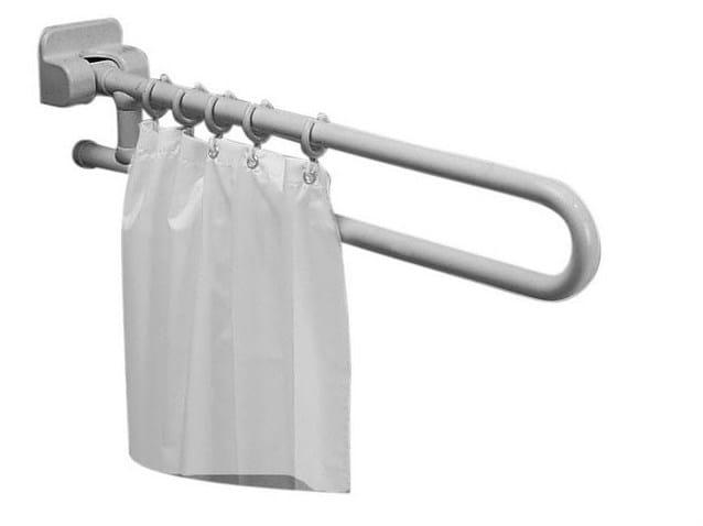 Maniglione bagno ribaltabile in acciaio zincato MAXIMA | Maniglione bagno in acciaio zincato by Ponte Giulio
