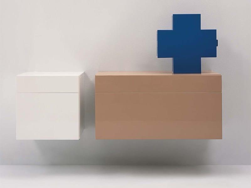 ... con cassetti SIMPLE  Mobile bagno con cassetti - CERAMICA FLAMINIA