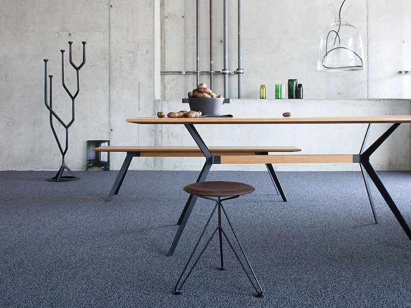 Solid-color carpeting BOWLLOOP 900 by OBJECT CARPET GmbH