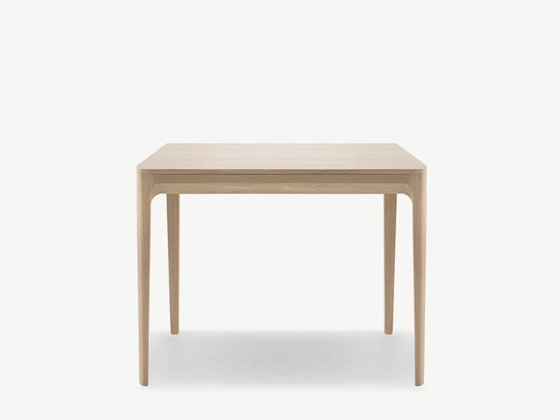Square wooden table KUSKOA | Square table by ALKI