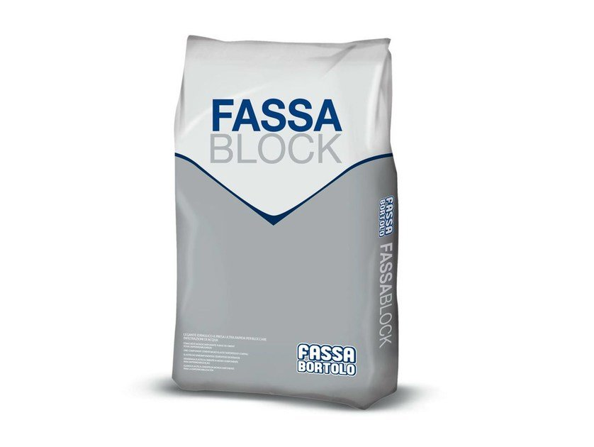 Cement-based waterproofing product FASSABLOCK by FASSA