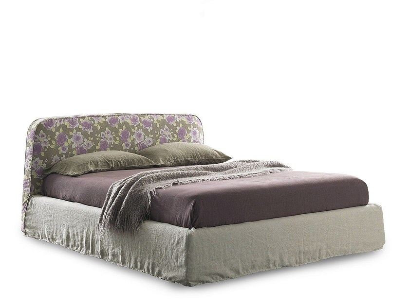 Double bed with removable cover GOLD CHIC by Bolzan Letti