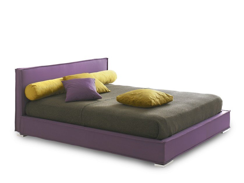 Double bed with removable cover MATERASSE' by Bolzan Letti