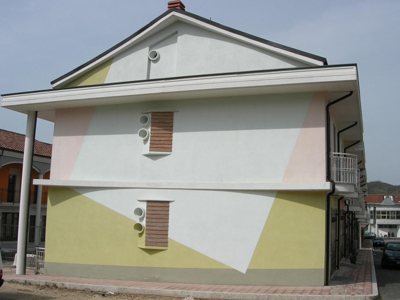 Skim coat and cementitious finish for plaster ARGACEM COLORATO by DIASEN