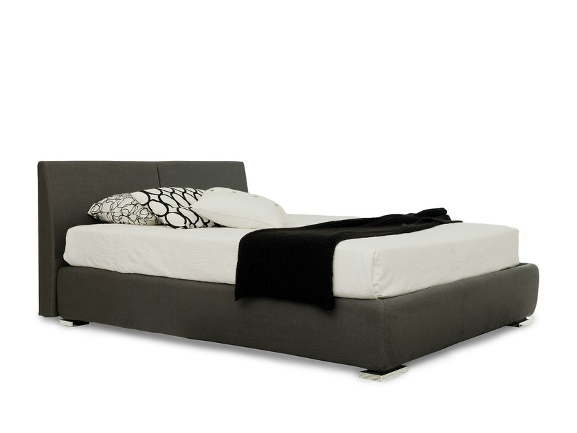 Double bed with removable cover TALLIS by Bolzan Letti