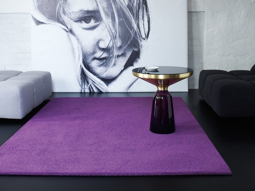 Solid-color polyamide rug MADRA 1100 | Rug by OBJECT CARPET GmbH