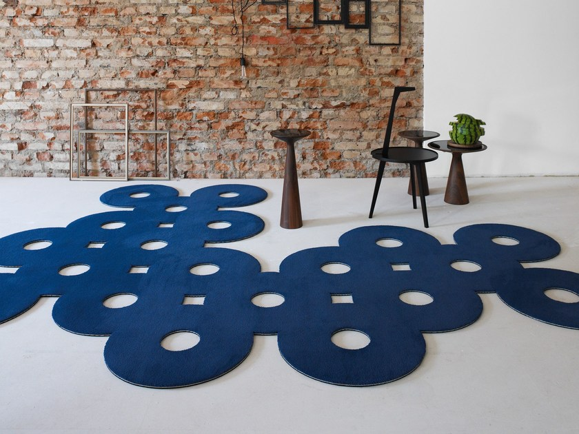 Solid-color rug MONDIALE 1100 by OBJECT CARPET GmbH