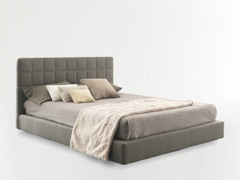 Double bed with removable cover VITTORIA by Bolzan Letti