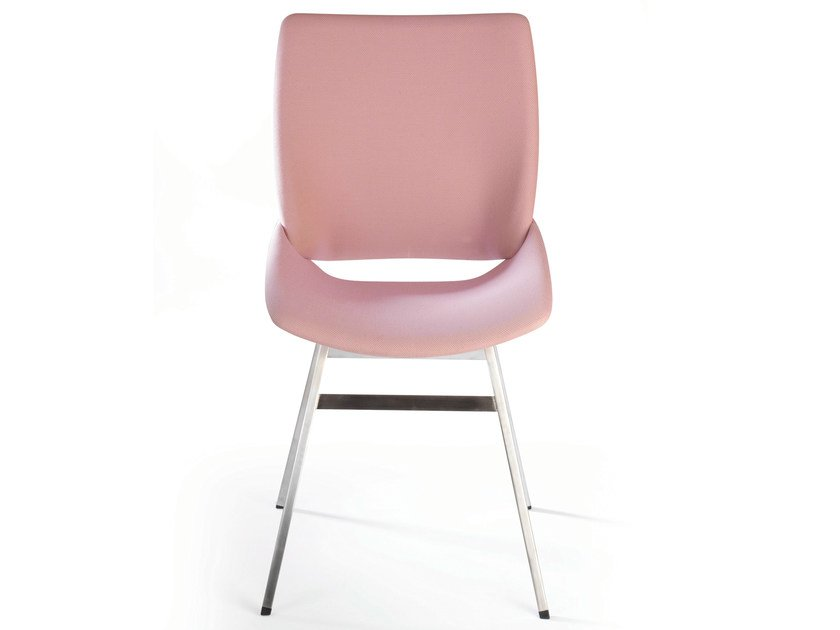 Fabric chair SHELL CHAIR TEXTILE by Rex Kralj