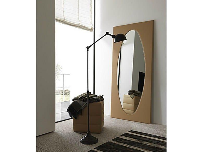 Freestanding framed mirror MIRROR by Bolzan Letti