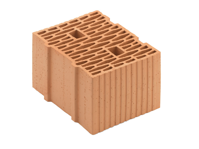 Loadbearing clay block for reinforced masonry Porotherm BIO 30-25/23,8 T by Wienerberger
