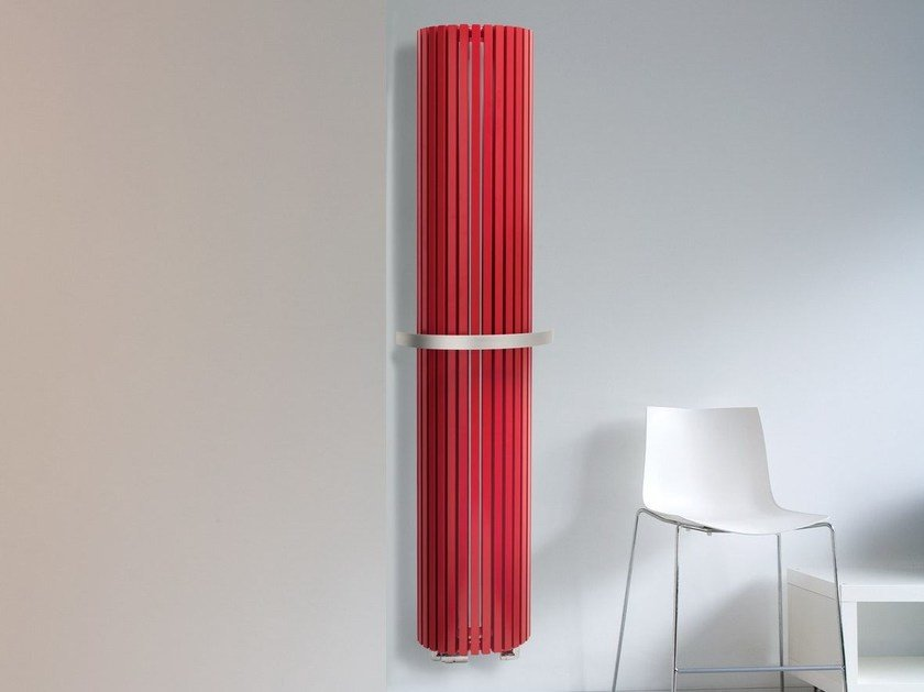 Vertical wall-mounted steel radiator CARRE' PLUS | Wall-mounted radiator by VASCO
