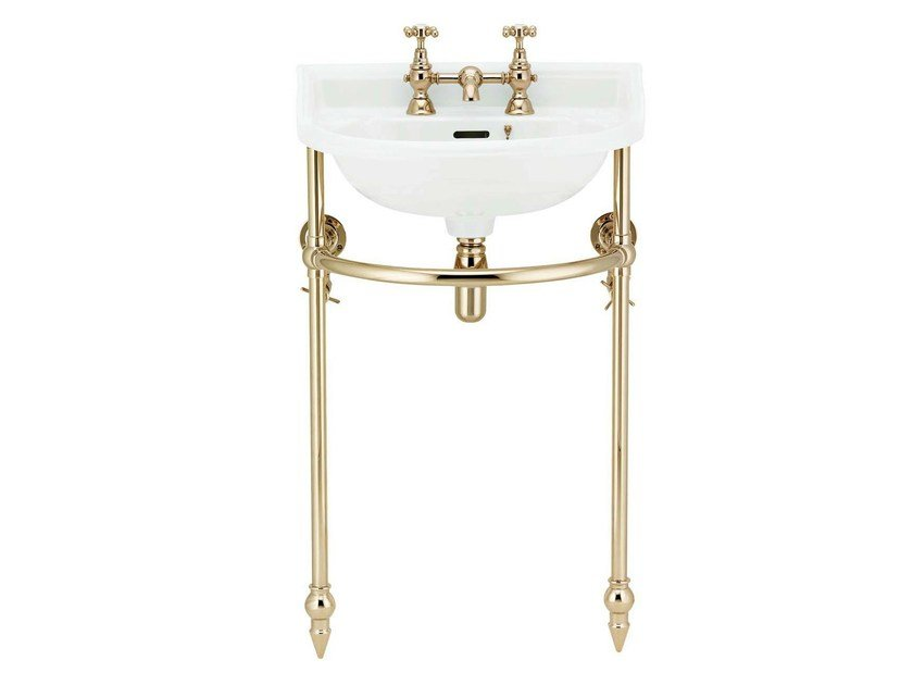 Console porcelain washbasin VICTORIAN   Console washbasin by GENTRY HOME