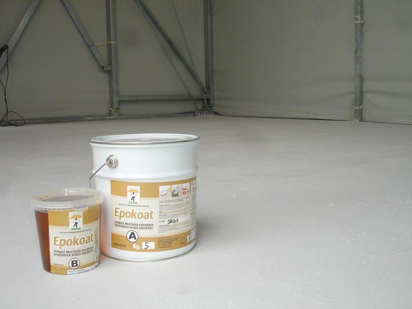 Flooring protection EPOKOAT by DIASEN