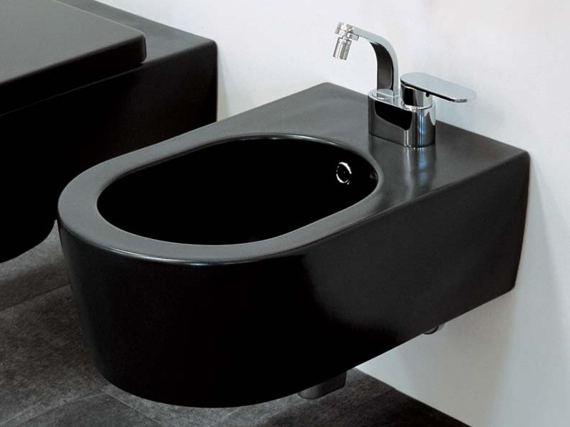 Wall-hung ceramic bidet LINK | Wall-hung bidet by CERAMICA FLAMINIA