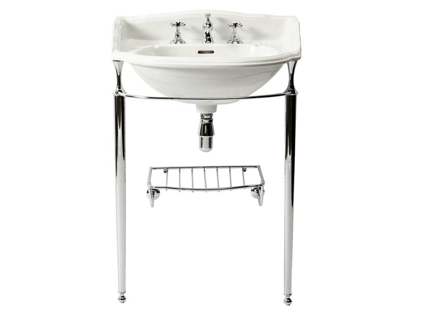 Console porcelain washbasin BELGRAVIA | Console washbasin by GENTRY HOME