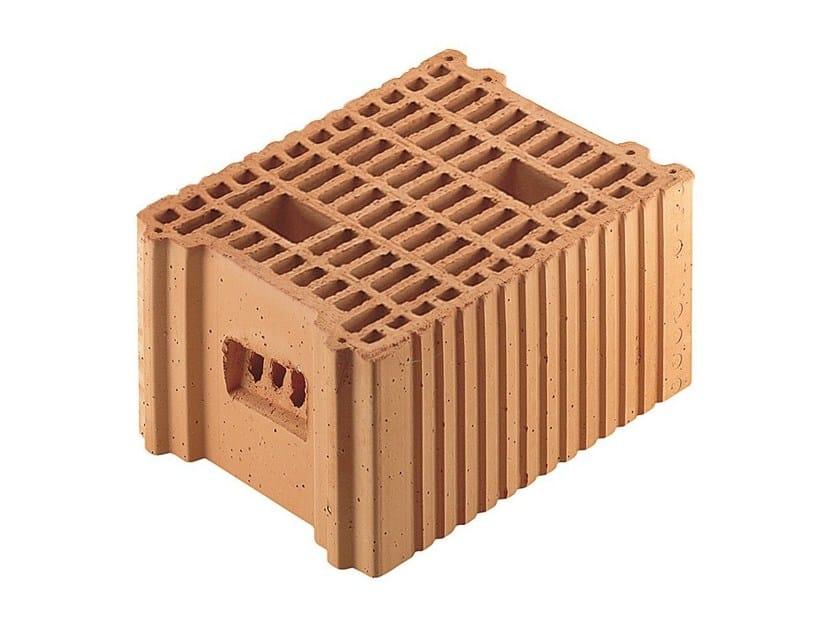 Loadbearing clay block for reinforced masonry Porotherm BIO 25-33/19 by Wienerberger