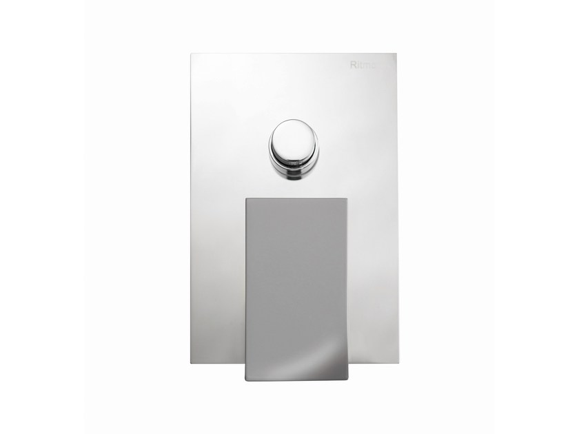 Single handle shower mixer with plate TWEET | Shower mixer with diverter by RITMONIO
