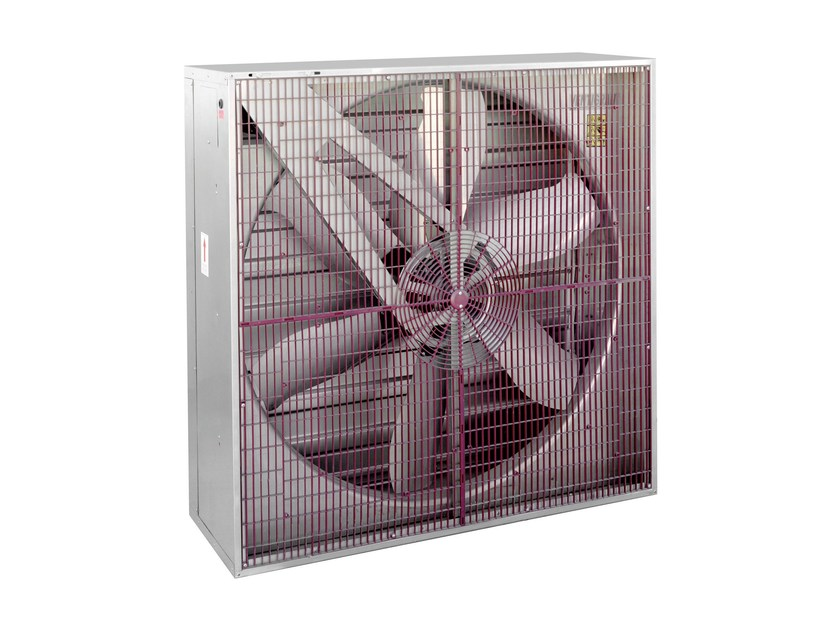 Air heater HIB/HIT by S & P Italia