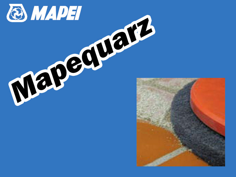 Flooring grout MAPEQUARZ by MAPEI