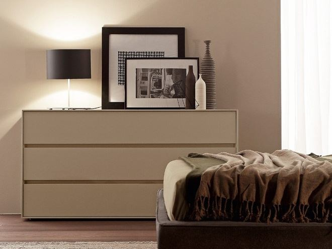 Wooden chest of drawers BOX | Chest of drawers by Presotto