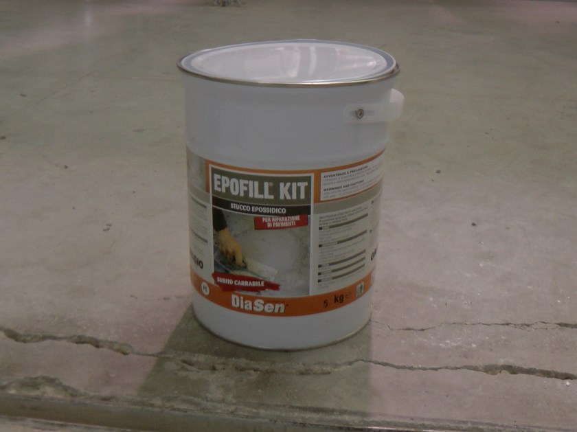 Flooring grout EPOFILL KIT by DIASEN