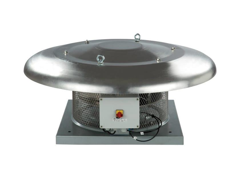 Centrifugal and axial fan CRHB ECOWATT by S & P Italia