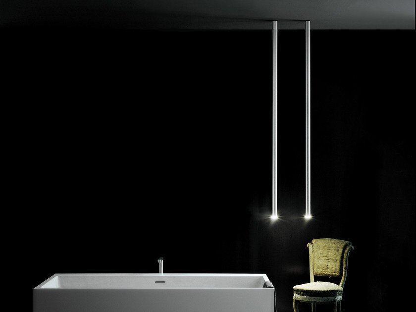 LED aluminium pendant lamp L.O.P. (LED ORGAN PIPE) by Boffi