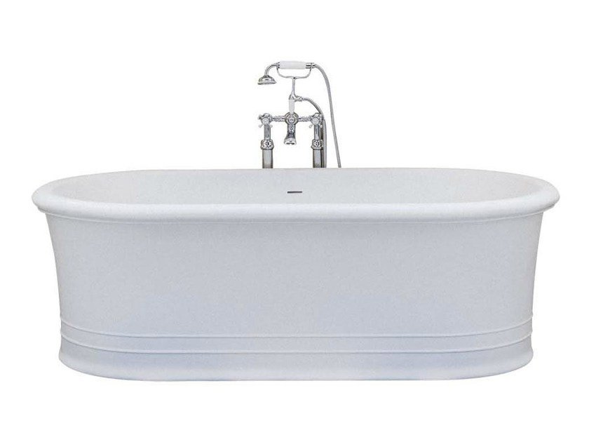 Freestanding oval bathtub MANHATTAN by GENTRY HOME