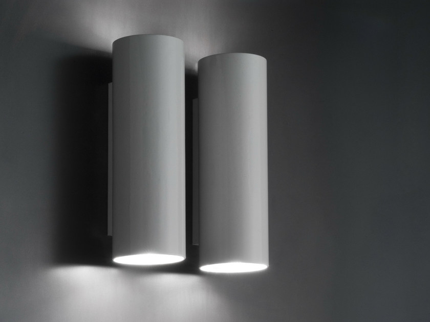Chrome plated wall light P7 by Boffi