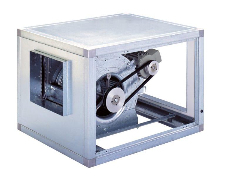 Mechanical forced ventilation system CVTT by S & P Italia