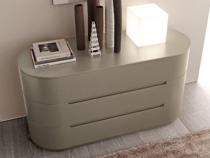 Wooden chest of drawers GLOBO 2 | Chest of drawers by Presotto