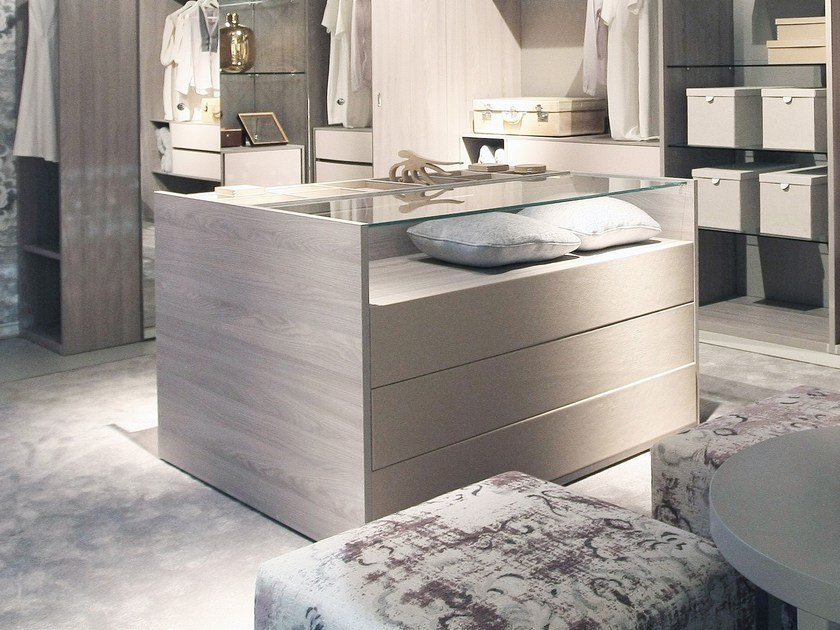 Wooden chest of drawers EUREKA   Chest of drawers by ESTEL GROUP