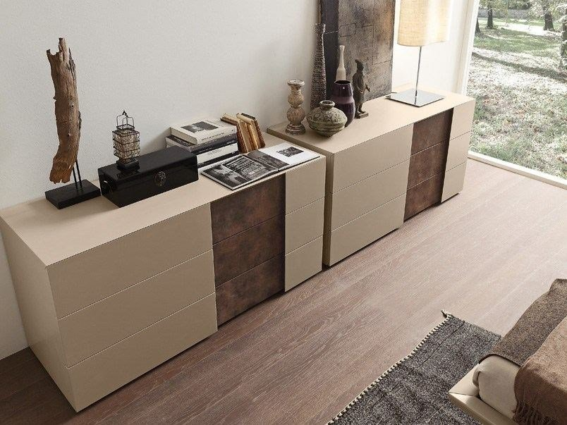 Contemporary style chest of drawers INSIDE | Chest of drawers by Presotto