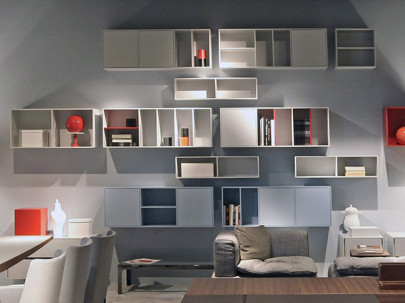 Lacquered wall cabinet CARABOTTINI by ESTEL GROUP