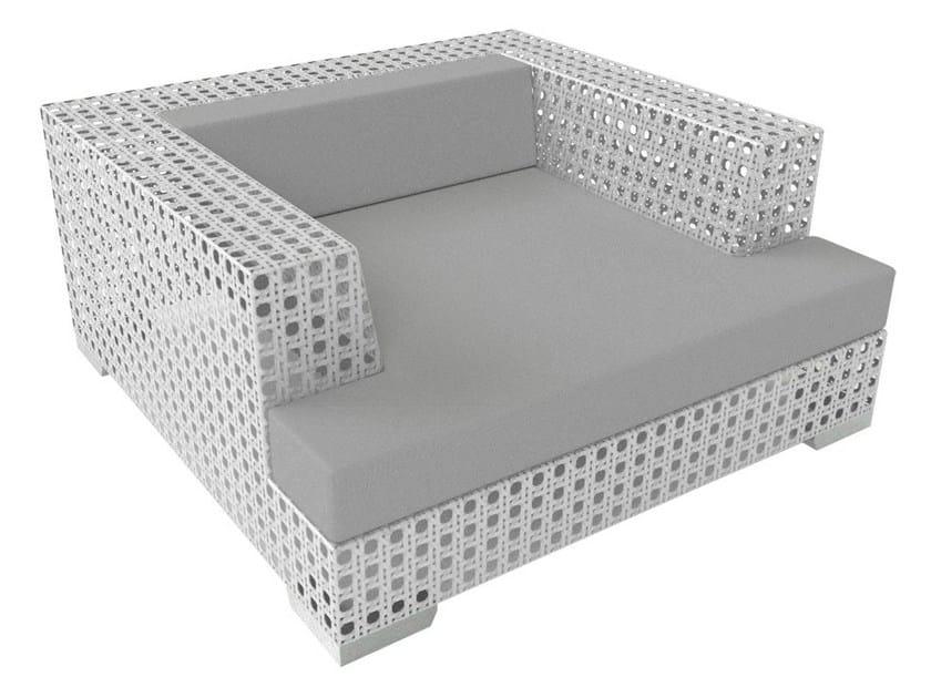 Sunbrella® garden armchair with armrests PORTO VECCHIO | Armchair by Sérénité Luxury Monaco