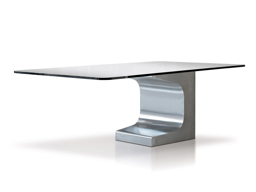 Square metal table NIEMEYER | Square table by ESTEL GROUP