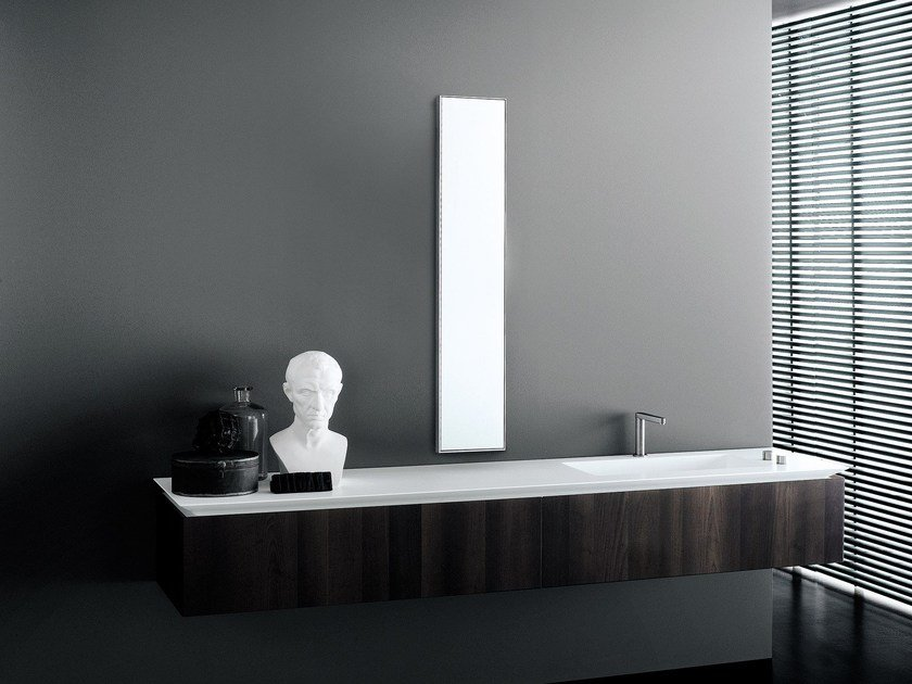 Wall-mounted vanity unit B14 by Boffi