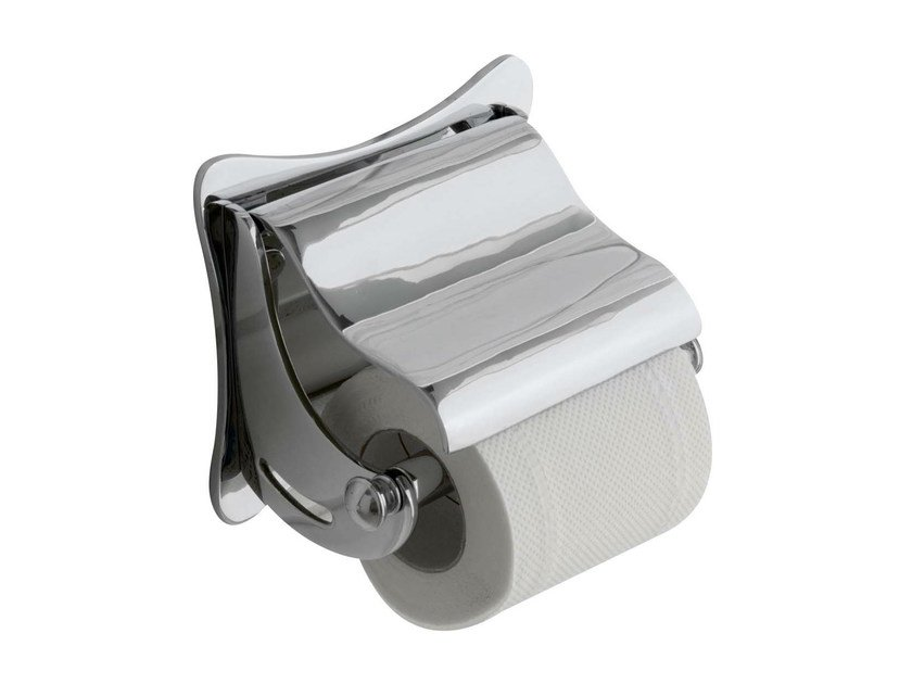 Toilet roll holder DUKE | toilet roll holder with cover by GENTRY HOME