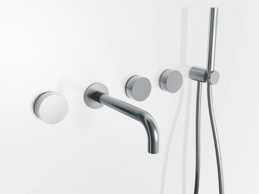 5 hole wall-mounted bathtub set with hand shower AF/21 | 5 hole bathtub set by ABOUTWATER