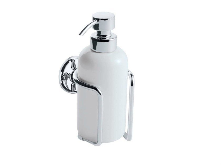 Wall Mounted Ceramic Liquid Soap Dispenser St James By Gentry Home