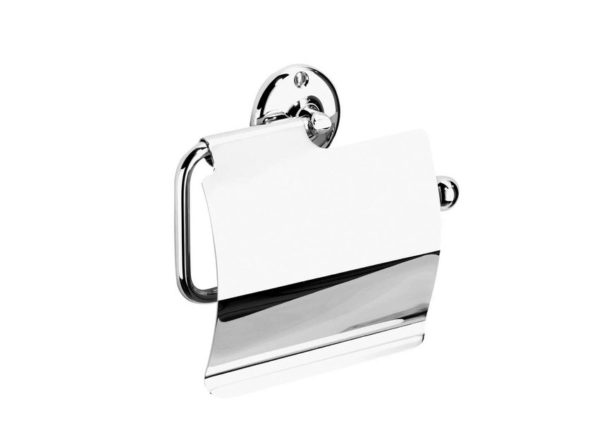 Toilet roll holder ST. JAMES | toilet roll holder w/ cover by GENTRY HOME