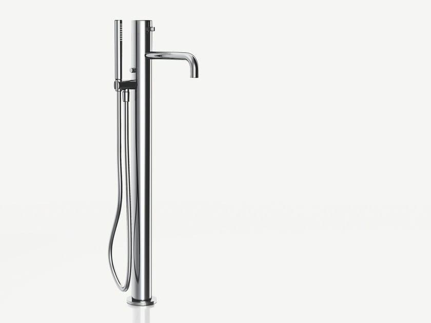 Floor standing bathtub mixer with hand shower AF/21 | Floor standing bathtub mixer by ABOUTWATER