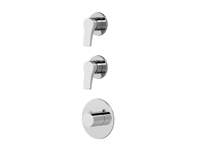 3 hole thermostatic shower/bathub mixer AL/23 | 3 hole thermostatic shower mixer by ABOUTWATER